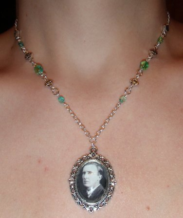 Not all those who wander--Tolkien necklace