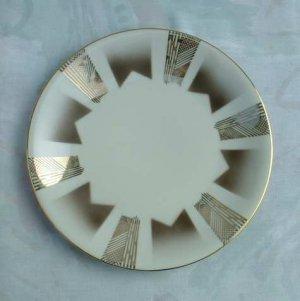 Germany Hartporzellan Rheinpfalz Art Deco Pattern Salad Plate