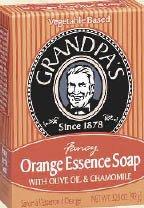 Grandpa's Orange Essence Soap - 3.25oz