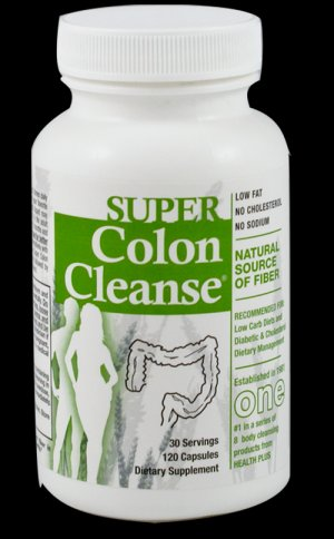Health Plus Super Colon Cleanse - 120cap