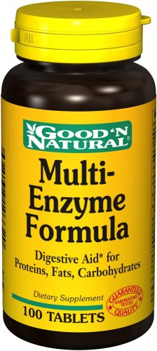 Good 'N Natural Multi-Enzyne Formula - 100 tab