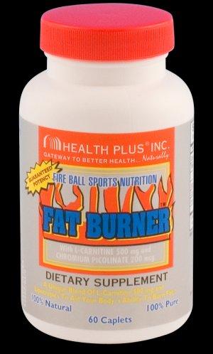 Health Plus Fat Burner + L-Carnitine ~ 60cap