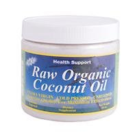 Health Support Raw Extra Virgin Coconut Oil - 15.3oz