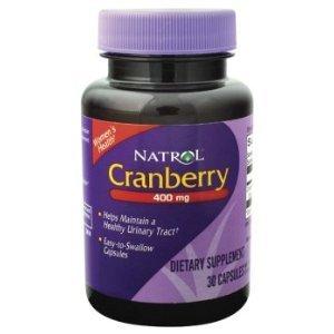 Natrol Cranberry 400mg - 30 Caps