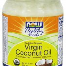 NOW Certified Organic Virgin Coconut Oil - 12oz
