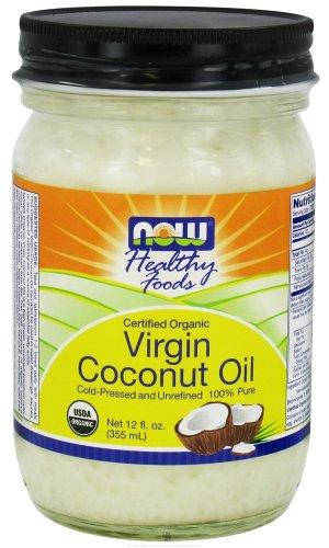 NOW Certified Organic Virgin Coconut Oil - 12oz