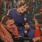 Pepsi 1961 Authentic Christmas Print Ad