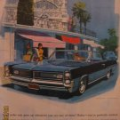 Pontiac Grand Prix 1963 Authentic Print Ad