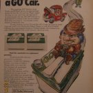 Exide & Willard Car Batteries 1972 Authentic Print Ad