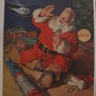 Coca-Cola Santa 1962 Authentic Print Ad
