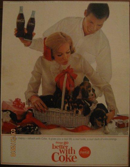 Coca-Cola 1964 Authentic Print Ad