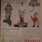 Toro Power Handle 1962 Authentic Print Ad