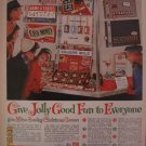 Milton Bradley Games 1962 Authentic Print Ad
