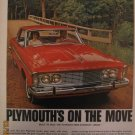 Plymouth 1962 Authentic Print Ad