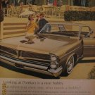 Pontiac Bonneville 1962 Authentic Print Ad