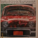 Renault Dauphine 1962 Authentic Print Ad