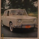Renault R-8 1962 Authentic Print Ad