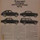 Volvo 1962 Authentic Print Ad