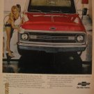 Chevorlet Truck 1961 Authentic Print Ad