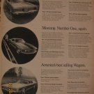 Ford Mustang 1961 Authentic Print Ad