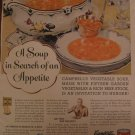 Campbell's Soup 1938 Authentic Print Ad