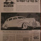 Hudson 1939 Authentic Print Ad