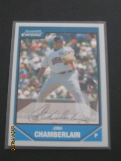 2007 Bowman Chrome  #BDPP71 Joba Chamberlain NM/MT