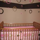 Wall Vinyl Sticker Decal Circle Dots Ring Bubble 3color