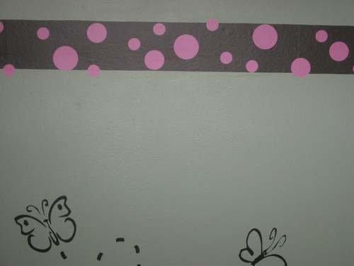 Baby Kids Removable Wall Vinyl Sticker 126 POLKA DOTS