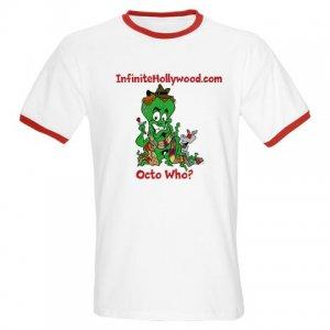 Infinite Hollywood Red Ringer T-Shirt