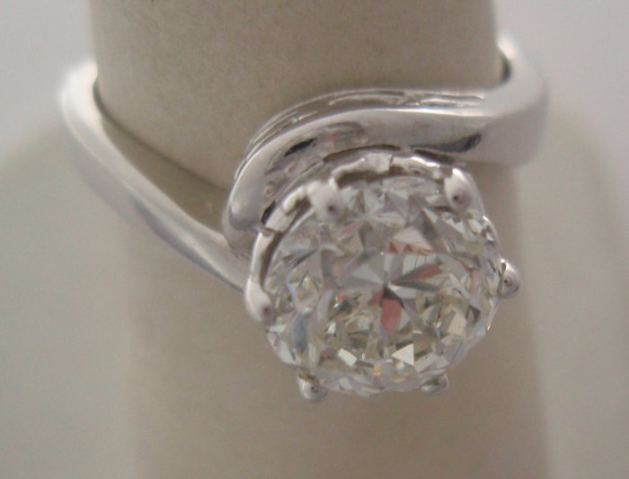 Diamond 1.82 cts in Platinum Ring