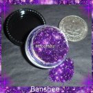 Banshee Purple Loose Glitter Makeup Cyber Gothic 5 Gram  ---FREE Shipping
