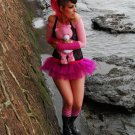 Micro Mini Hot Pink Faerie Ballet Adult Tutu Tulle Skirt Medium