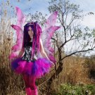 Cheshire Cat Pink Purple Retro Adult TuTu Tulle Skirt Small