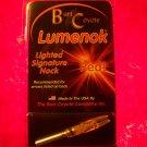 Signature Lumenok Red Lighted Arrow Nock Lumenoks Burt Coyote one 1 single