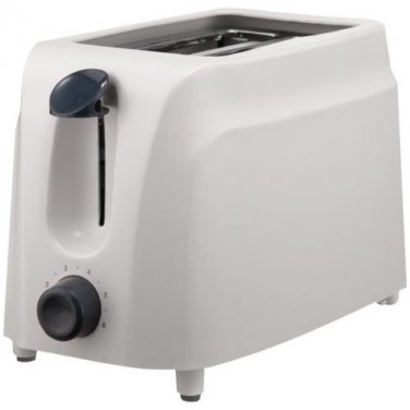 BRENTWOOD Cool Touch 2 Slice Toaster White Finish