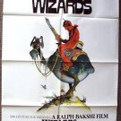 WIZARDS Original SCI-FI Fantasy ANIMATION Poster War of