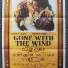 GONE WITH THE WIND Original PROMO Movie POSTER Polygram