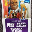 NORMAN IS THAT YOU? Gay POSTER  Pearl Bailey REDD FOXX