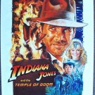 INDIANA JONES and the TEMPLE OF DOOM Original POSTER 84