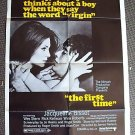 JACQUELINE BISSET The FIRST TIME Wes Stern MOVIE POSTER