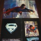SUPERMAN Original Color PHOTO Program CHRISTOPHER REEVE