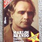 MARLON BRANDO Color POSTER Magazine on Career SPAIN 70s