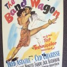 CYD CHARISSE The BAND WAGON Poster FRED ASTAIRE  M.G.M.