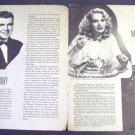 MARIE WILSON  Blackouts of 1947 KEN MURRAY  El Capitan