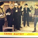 GENE AUTRY  Smiley Burnette ORIGINAL Lobby Card WESTERN