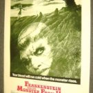 FRANKENSTEIN and the MONSTER FROM HELL Hammer POSTER 74