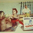 DOROTHY DANDRIGDE Original TAMANGO Lobby Card C JURGENS