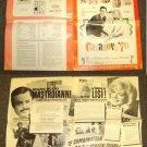 CASANOVA '70 Pressbook VIRNA LISA  Marcello Mastroianni