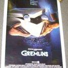 GREMLINS Original MOVIE POSTER Steven Spielberg GIZMO